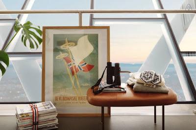 Trampolín de esquí convertido en apartamento de lujo