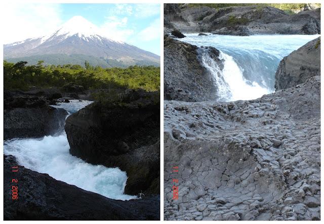 Saltos del Rio Petrohue, Chile
