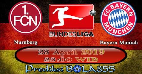 Prediksi Bola855 Nurnberg vs Bayern Munich 28 April 2019
