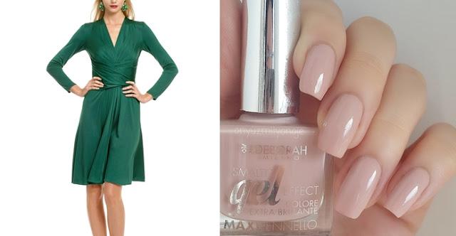 Yeşil Elbiseye Hangi Renk Oje Yakışır?