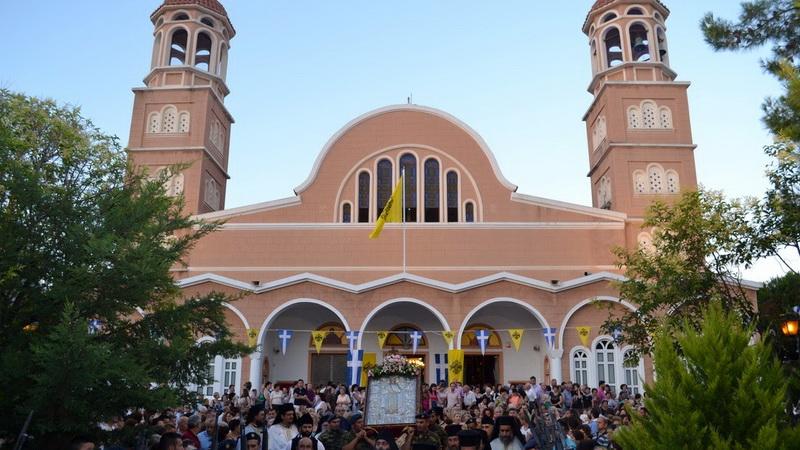 Με λαμπρότητα εορτάστηκε η Αγία Κυριακή στην Αλεξανδρούπολη