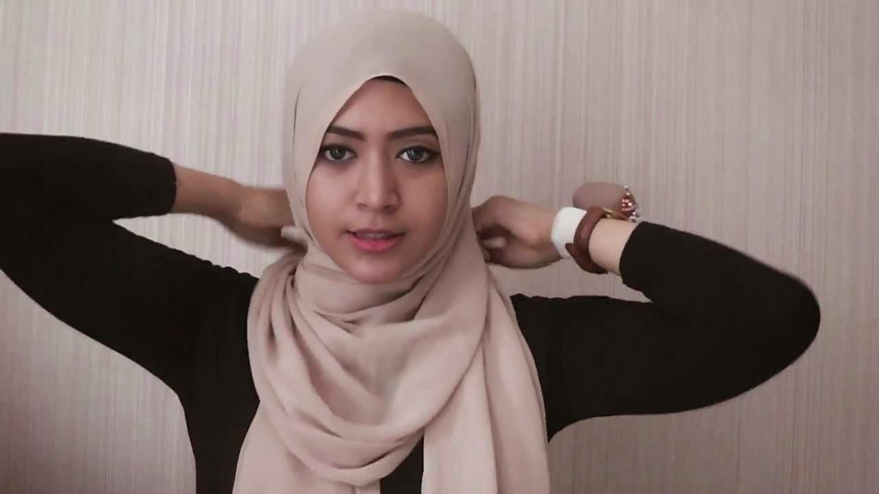 Video Tutorial Hijab Tutorial Hijab