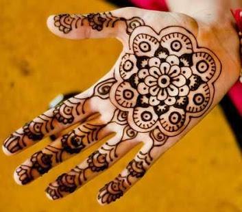 Henna Simple Di Jari Makedes Com