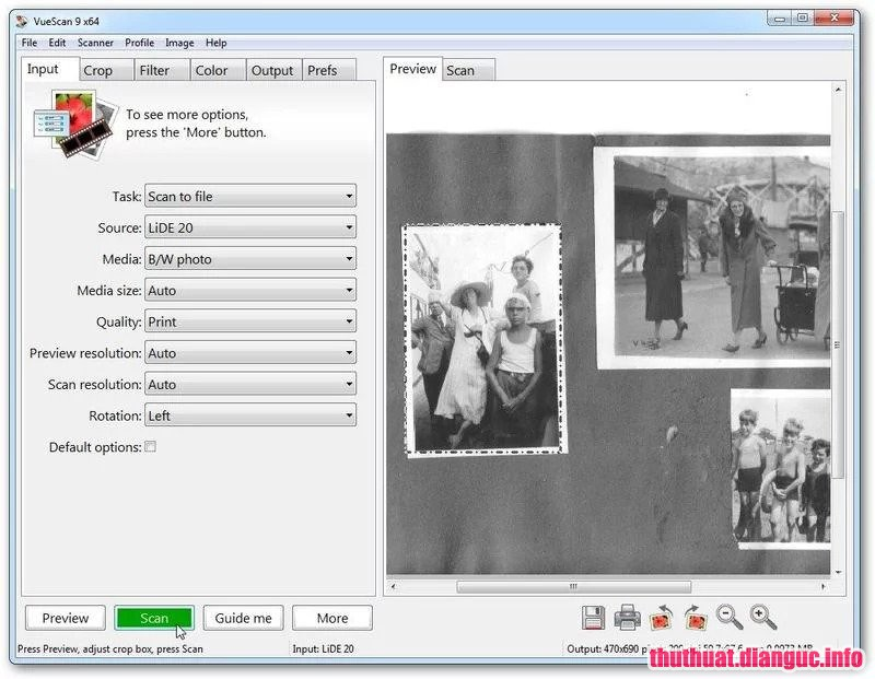 Download Vuescan Pro 9.6.12 Full Key – Phần mềm Scan ảnh chất lượng cao