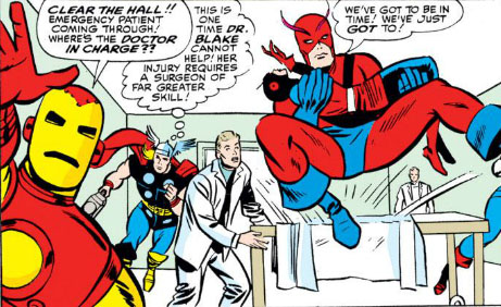 The Peerless Power of Comics!: Even Avengers Can Die!
