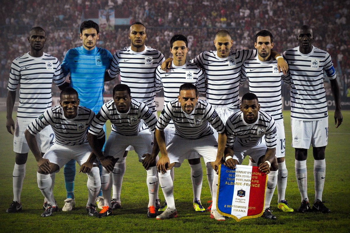 f11adbc264d7 Designed With The Help Of Karl Lagerfeld - Nike France 2011 Away Kit ...