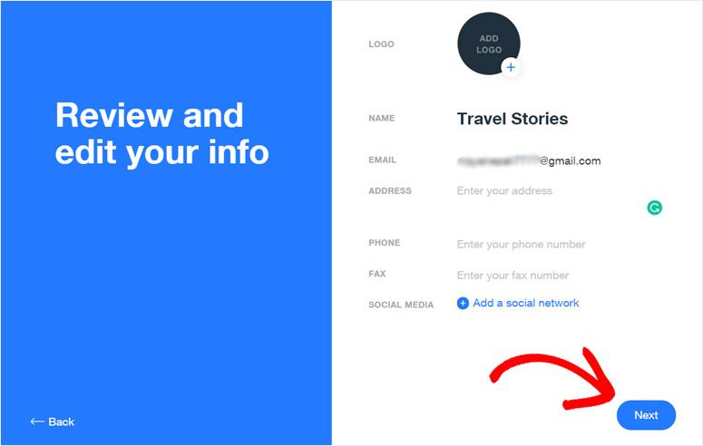 Ulasan dan edit halaman info