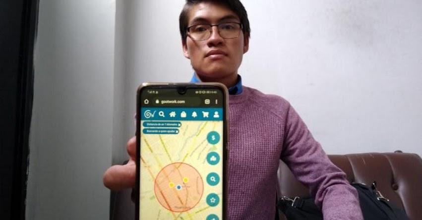 ANDRÉ LÓPEZ MELGAR: Ingenioso programador crea aplicativo para realizar compras solidarias