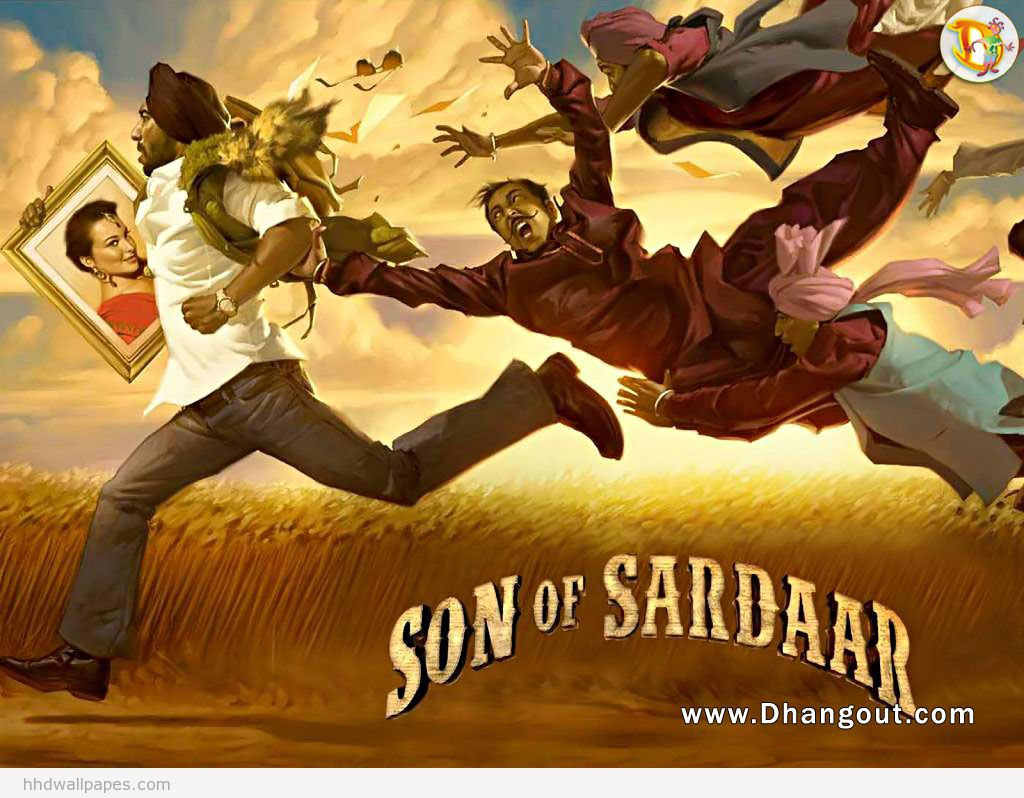 Son Of Sardar Movie Wallpapers Hd: Movies, Views And Reviews: Son Of Sardaar