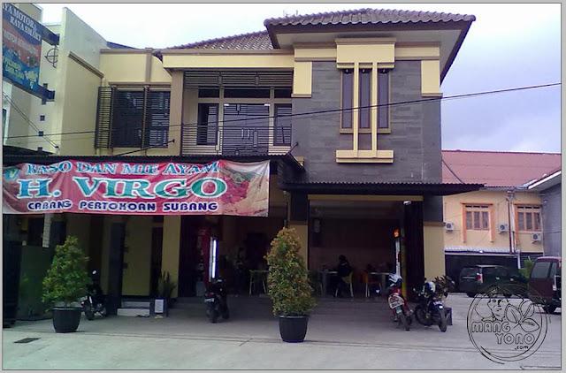 Mie Baso & Mie Ayam Pelangi H. Virgo Jl. Otista No. 19 Subang - Jawa Barat