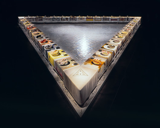 134. The Dinner Party de Judy Chicago