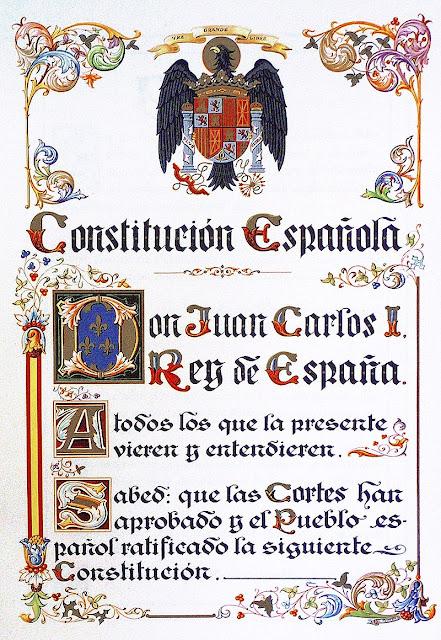 Cuarenta años de la Constitución española