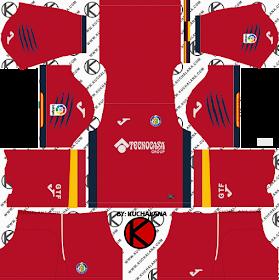 Getafe CF 2018/19 Kit - Dream League Soccer Kits