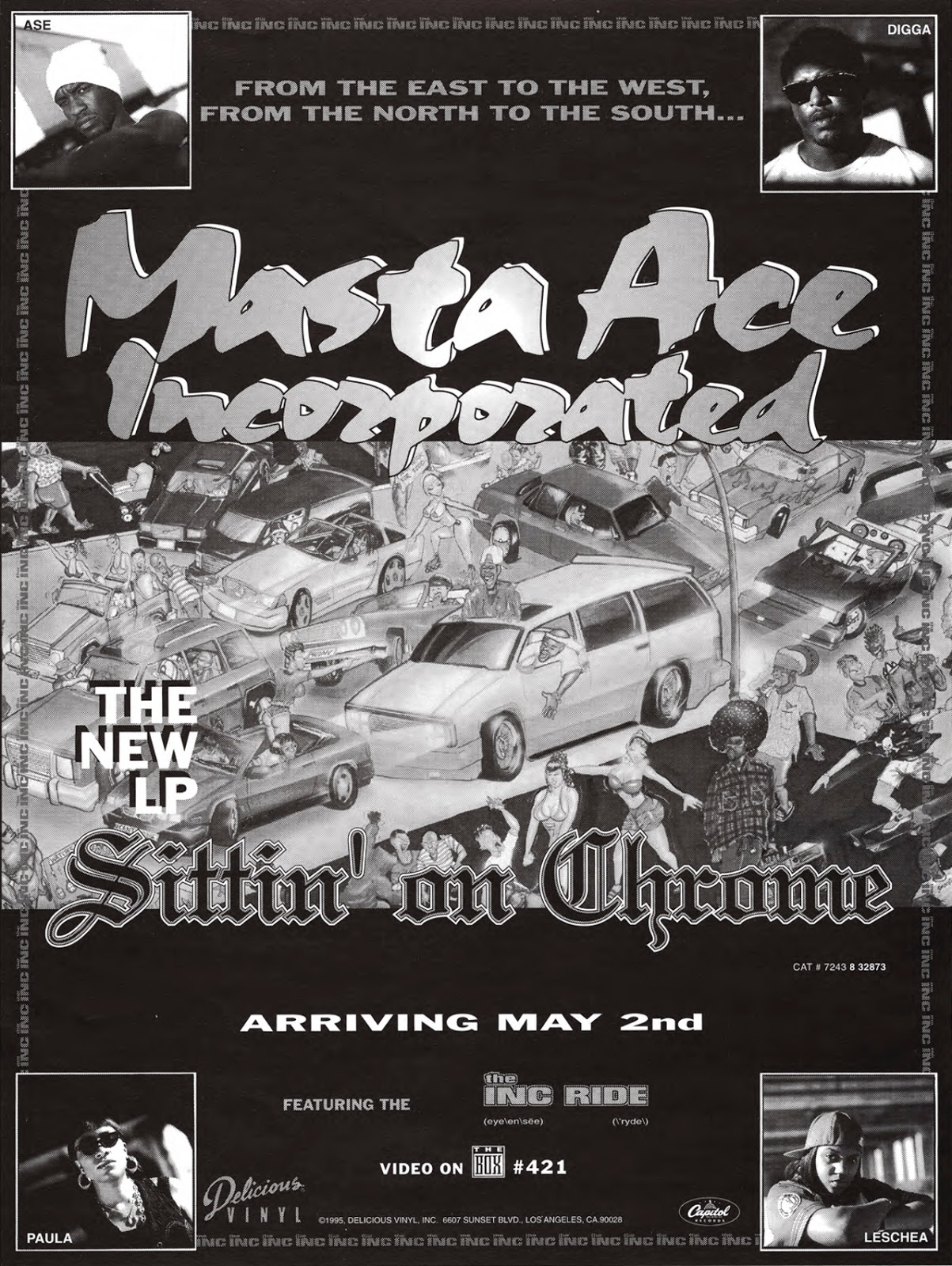 Masta Ace Incorporated 'Sittin on Chrome' (5/2/95)