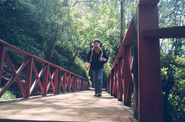 Jembatan Cinta di Jalur Pendakian Gunung Semeru