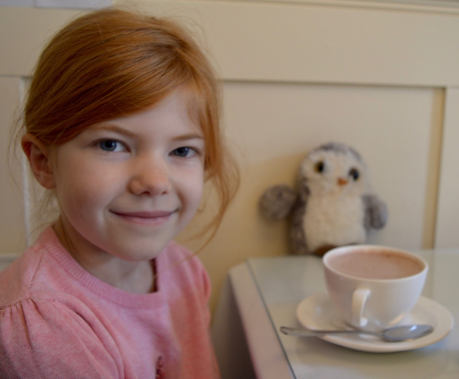 A weekend break in Richmond, North Yorkshire | What to do with the kids - Duncan's Tearoom kids hot chocolate
