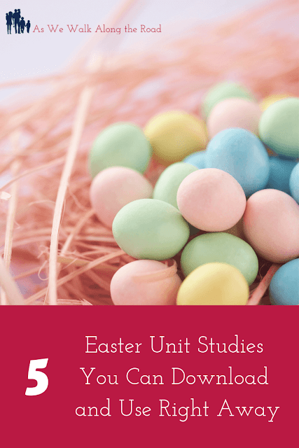 Downloadable Easter unit studies