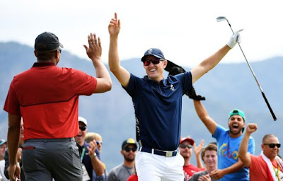 Justin Rose Hits First Historic Olympic Hole-In-One as Golf Returns to Rio Games