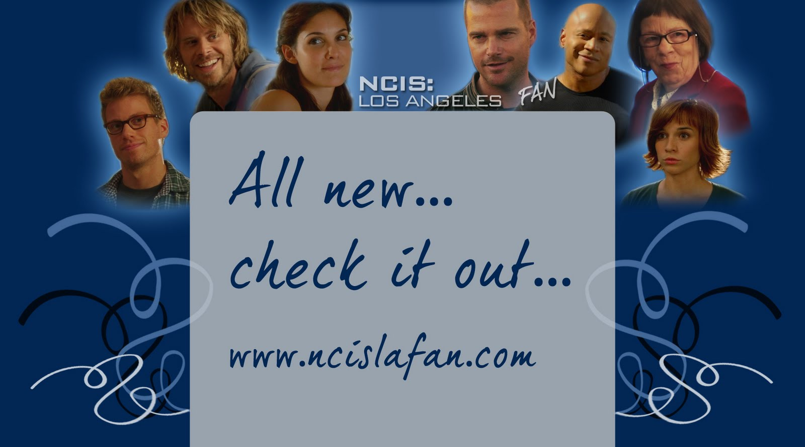 All new check out wwwncislafancom ncis los angeles cast and crew