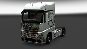 King skin for Mercedes MP IV