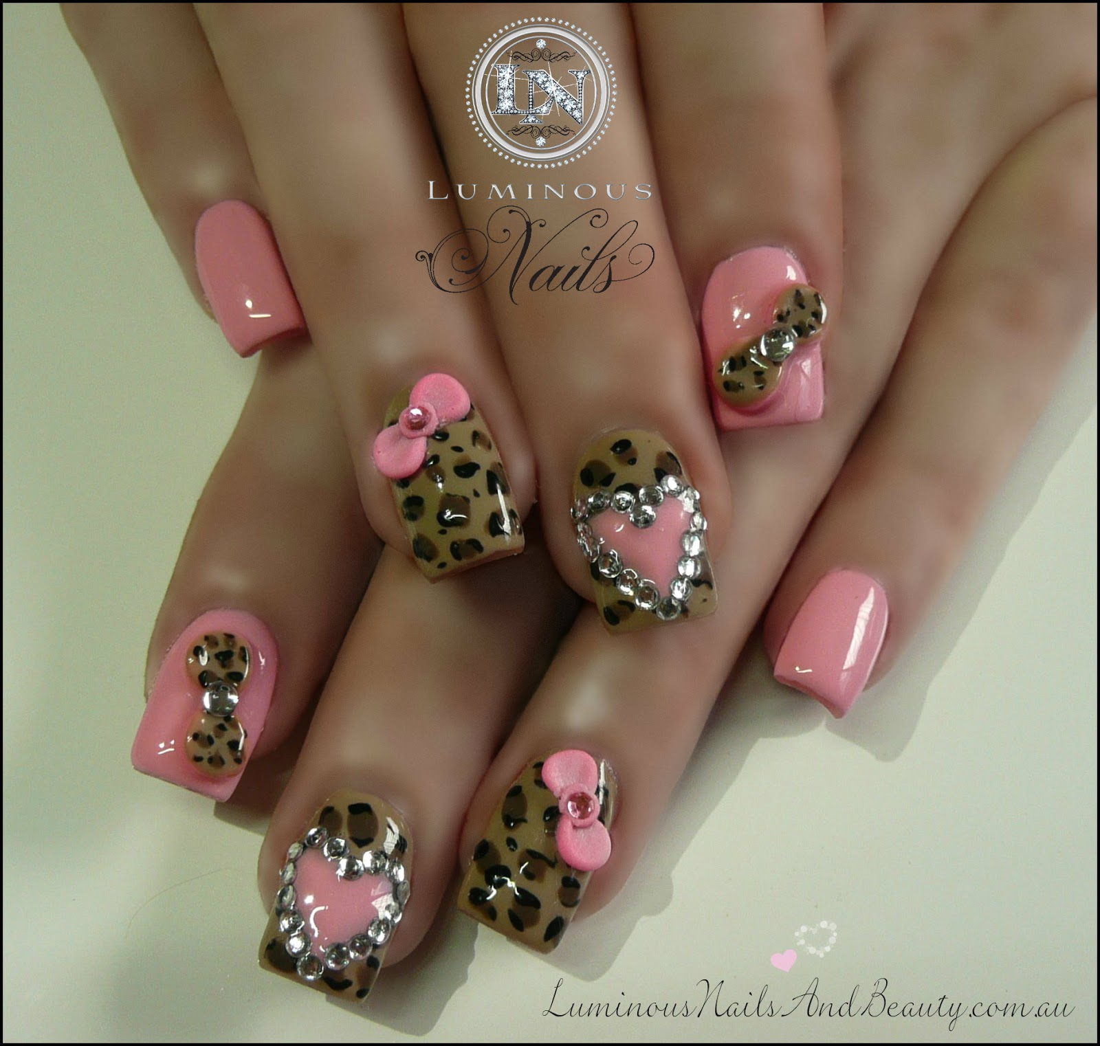 Nail Art Ideas: Cheetah Print Nail Designs