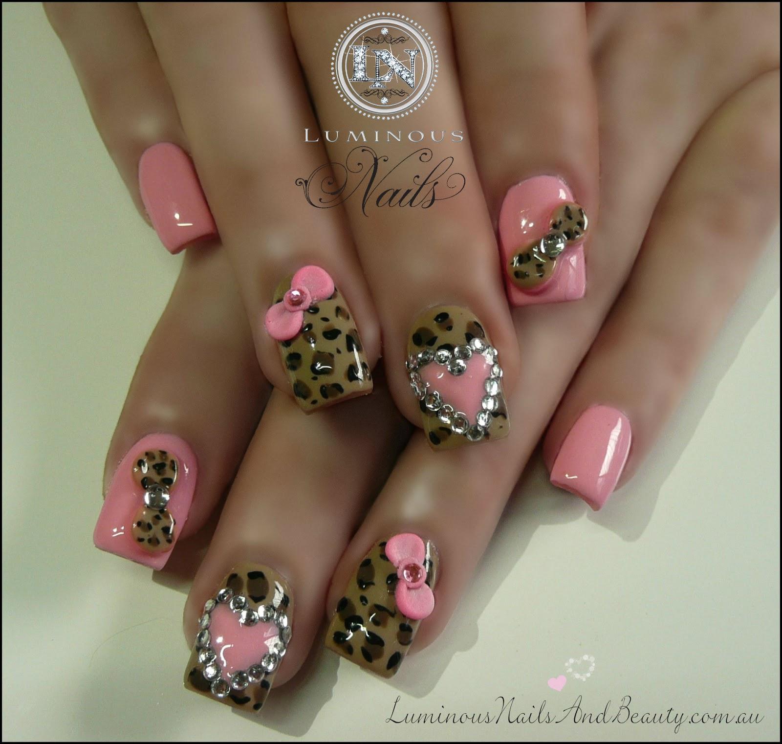 Cheetah Print Nail Designs - Pccala