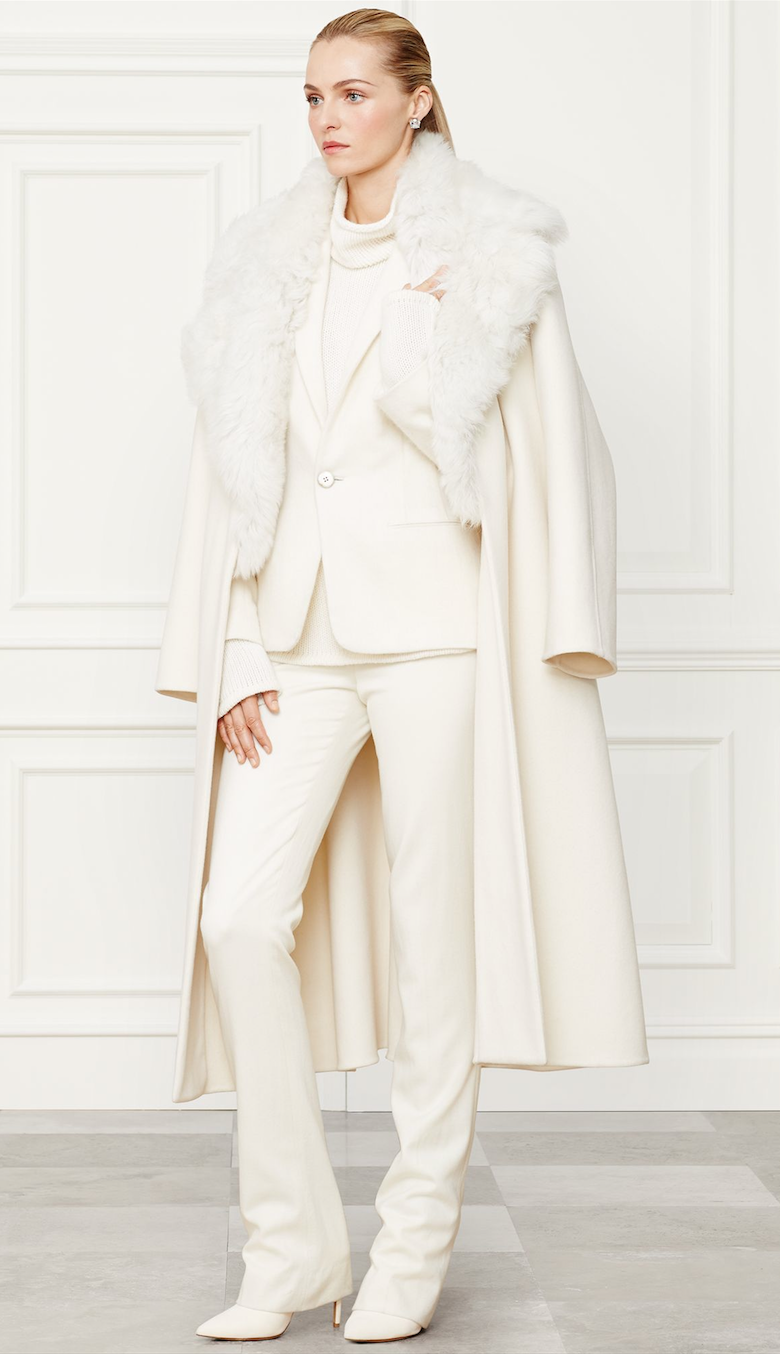 Ralph Lauren Leonarda Coat Fall 2014 Collection
