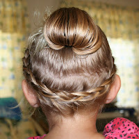 Nancy S Couture Spiral French Braid