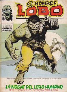 El Hombre Lobo 01 Ediciones Vertice