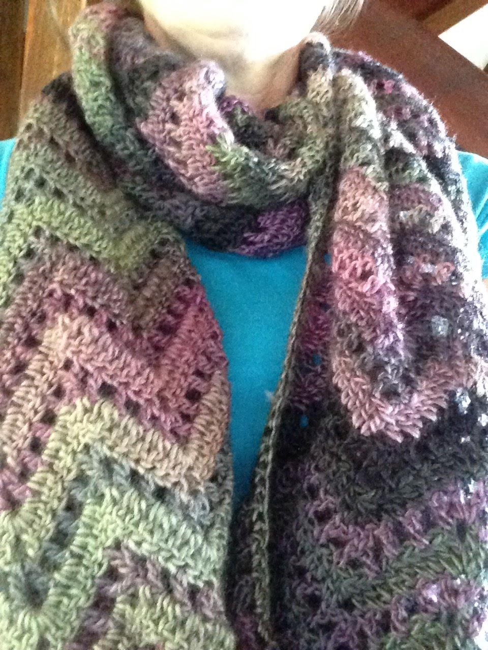 Crochet Obsession: Crochet a Woman\'s Scarf using Tamara Kelly\'s ...