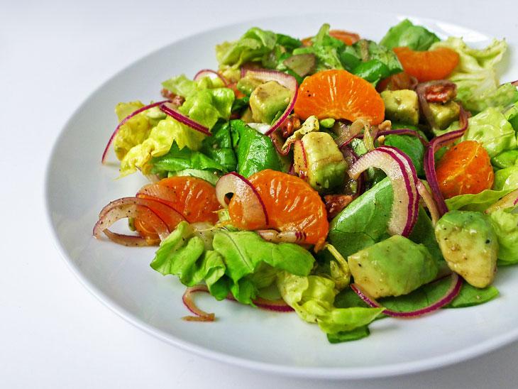 Cooking Weekends: Buttercrunch Lettuce and Mandarin Orange ...