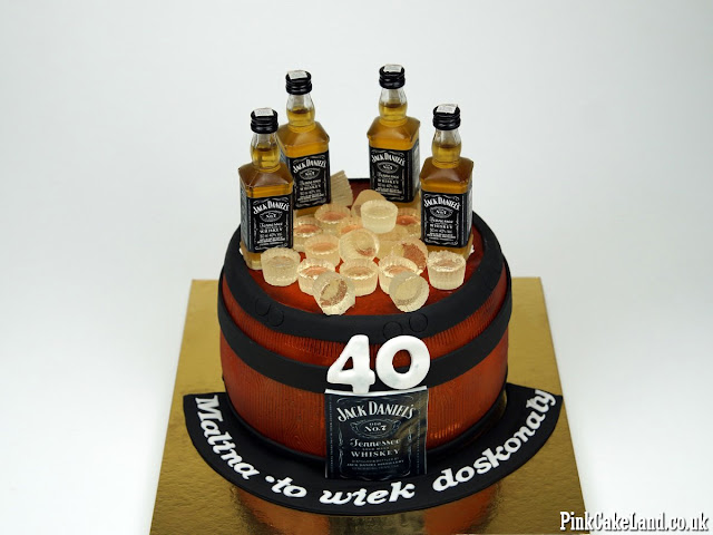 40th Birthday Cake London