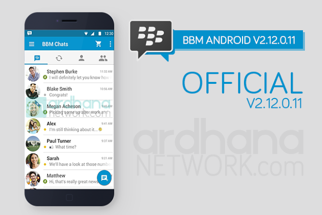 Official Latest version BBM Android APK Download
