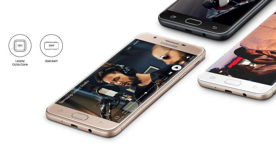 samsung galaxy j7 prime processor