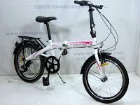 B 20 Inch Element Blast 7 Speed Shimano Folding Bike