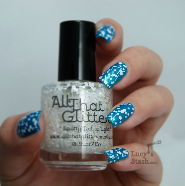 Lucy's Stash - All That Glitters Spotty Dottie Light