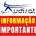 Atenção Usuários Audisat - 23/06/2018