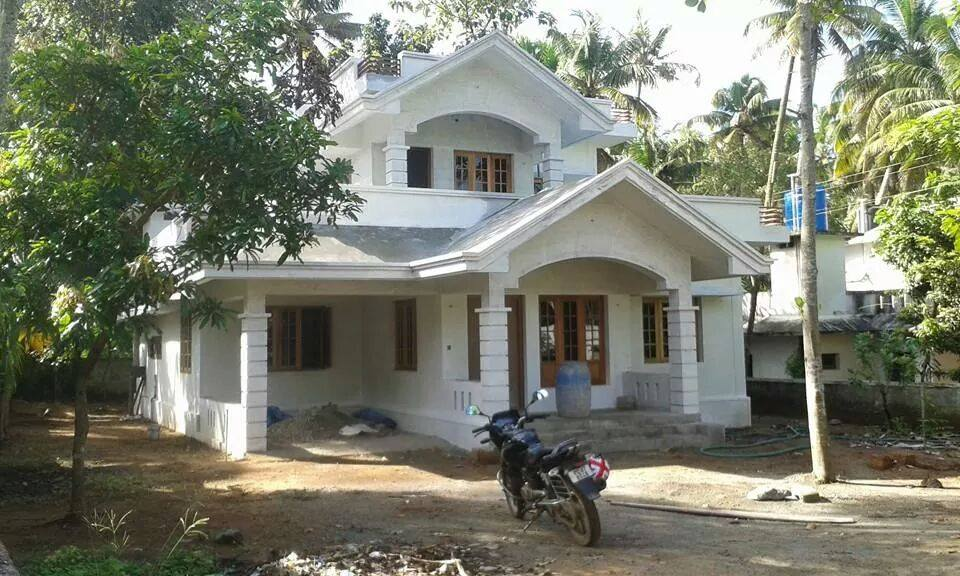 Two Floor Kerala Home Design For Middle Class Family Free Kerala Home Plans