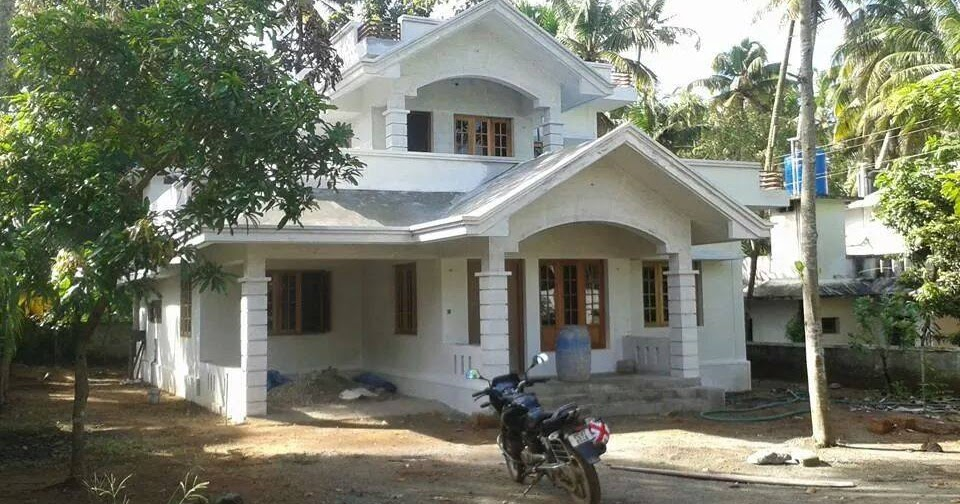 Two floor kerala home design for middle class family for 1000 sq ft house design for middle class