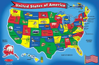 Corkboard Connections Fun Games For Learning The States - Us map interactive game