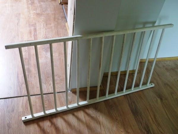 barierka schodowa z łóżeczka