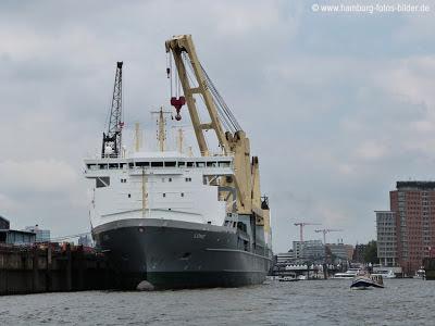 Hafenrundfahrt Hamburg Containerschiff Lone