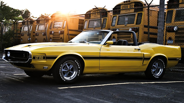 Ford Mustang Shelby GT350 Convertible 1969 Amarillo