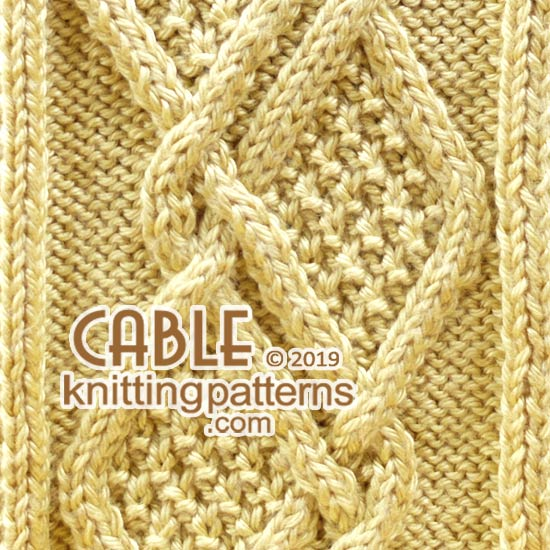 Knit Aran Pattern, FREE #Knitting
