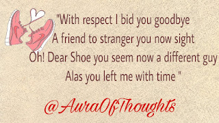 Poem on Shoe - Aura Of Thoughts