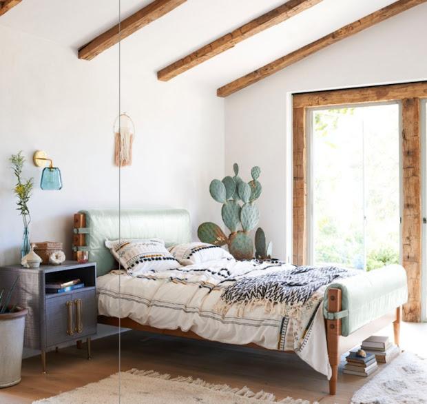 Anthropologie Inspired Bedroom
