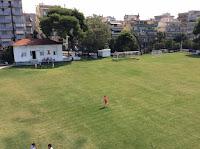 Το γήπεδο της ακαδημίας ποδοσφαιρου