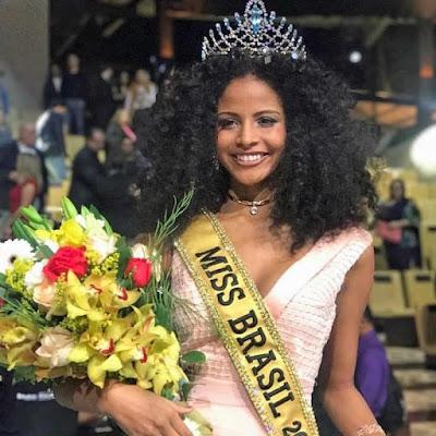 Piauiense Monalysa Alcântara é eleita Miss Brasil 2017