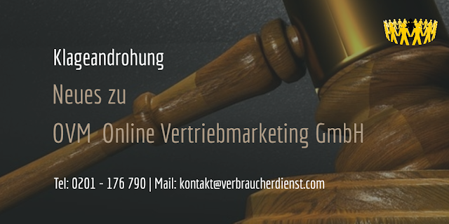Beitragsbild: OVM Online Marketing GmbH | Klageandrohung