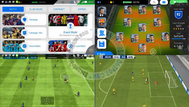 pes 2017 Apk Update v1.1.0 Full MOd 4.0 ANdroid up